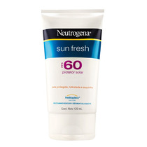 Protetor Solar Neutrogena Sun Fresh Corpo Fps60 Com 120ml