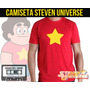Camisetas Steven Universo Desenho Cartoon Adulto / Infantil