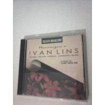 Cd Ivan Lins Homenagem O Piano De Luiz Avelar Original