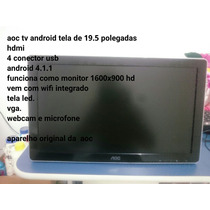 Monitor. Tv. Android
