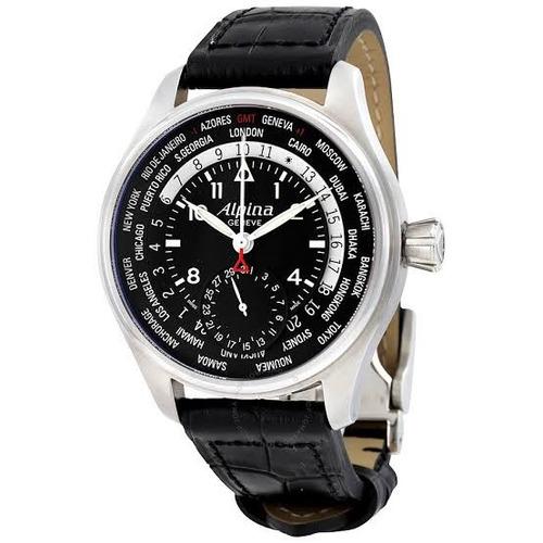 fa3cf1ea837 Relógio Alpina Pilot Worldtimer Al-718b4s6 Iwc Séri Limitada. R  14000
