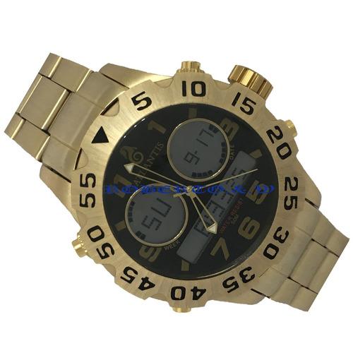 006cf5511ac Relógio Masculino Original Atlantis Dourado Ponteiro Digital. Preço  R  129  Veja MercadoLibre