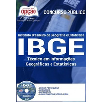 Apostila Ibge (técnico) 2016