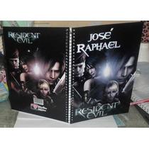 Caderno Resident Evil 10 Materias