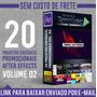 20 Projetos Editáveis After Effects - Promocionais Vol. 02