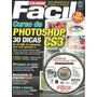 Revista + Cd Rom - Curso De Photoshop Cs3 - 32 Videoaulas