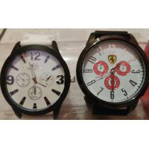 Relógios Masculino Silicone Kit/lote C/10 Atacado/revenda