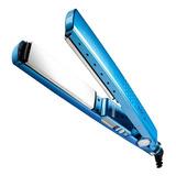 Prancha De Cabelo Mq Professional Hair Styling Titanium Azul Com Placas De Titânio 110v/220v (bivolt)
