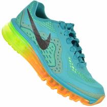 Tênis Nike Air Max 2014 Verde Original Frete Grátis