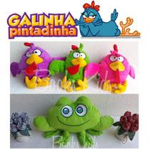 3 Galinha Cantoras + Sapo Da Turma Da Galinha Pintadinha