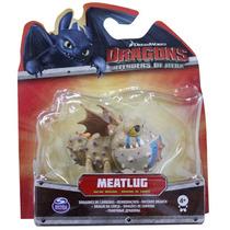 Como Treinar Seu Dragão - Dragões De Corrida - Meatlug