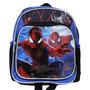 Mini-mochila Escolar Marvel Homem Aranha Preto/azul - 612856