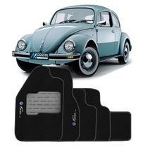 Tapete Carpete Preto Personalizado Fusca 1959 A 1996