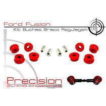 Ford Fusion - Kit Buchas Braço Regulagem Traseiro Em Pu