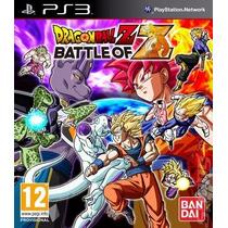 Ps3 - Dragon Ball Z - Battle Of Z - Míd Fís - Lacrado