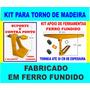Kit Para Torno Para Madaira