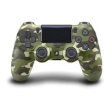 Controle Joystick Sony Dualshock 4 Green Camouflage