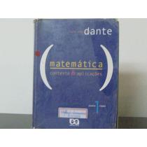 Matemática Contexto Aplicações Dante Volume 1