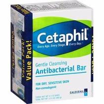 Kit 3 Sabonete Cetaphil Pele Sensivel Em Seca Antibacteriana
