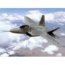 Planta Pdf Caça F-22 Raptor Escala Em Depron