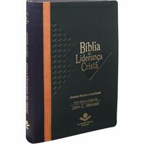 Bíblia De Estudo Da Liderança Cristã Grande Luxo 3 Cores
