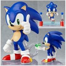 Kit Action Figure Sonic - Boneco Com Acessórios Sega Games