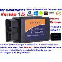 Scanner Diagnostico Automotivo Vgate Elm327 Obd2 1.5 Bluetoo