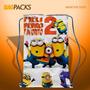 50 Sacolinha Aniversario Infantil Personalizada Minions