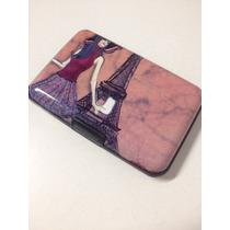 Carteira Porta Cartão Visita Crédito Feminino