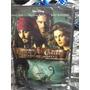 Dvd Piratas Do Caribe 1,2,3,4 -  4 Filmes 4 Discos