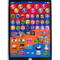 Mini Ipad Tablet Brinquedo Patati Patatá Multifunções
