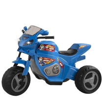 Moto Elétrica Max Turbo Azul 6v - Magic Toys Frete Grátis Br