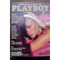 Revista Playboy Adriane Galisteu Edição De Aniversario 1995