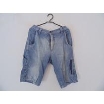 Bermuda Masculina Jeans Bolsos Cód. 758