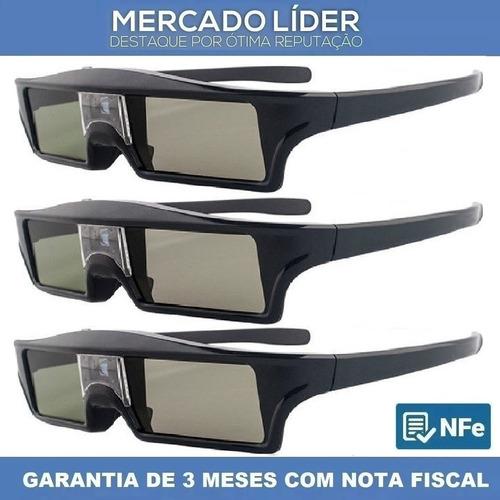 8f6e11802809e 3 Óculos 3d Dlp Ativo Projetores Optoma Benq Acer Vivitek