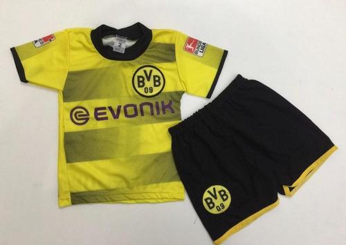 Kit Infantil Camisa Shorts Borussia Dortmund 2018 Encomenda. R  19.99 ffceb13c50190