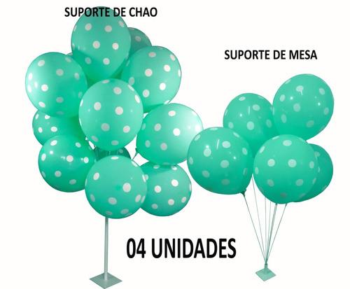 Suporte Bexiga Festa Balão Vareta Chãomesa Efeito Gás Helio R 69
