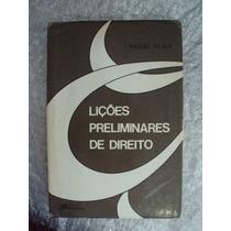 Lições Preliminares De Direito - Miguel Reale (frete Grátis)