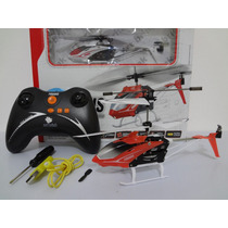 Helicóptero Rádio Controle Remoto Pégasus 3 Canais Art Brink