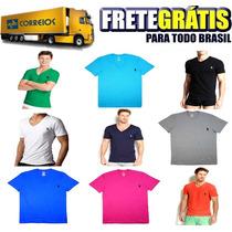 Kit Com 30 Camisetas Lisas Preço De Fábrica Frete Grátis