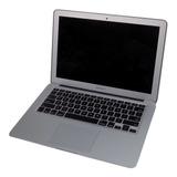 Ultrabook Apple Macbook Air 7,2 A1466 I7 2.2ghz 8gb Ddr3 240gb Ssd Tela 13,3pol Ano 2015 Mojave Bateria Ok Carregador Nf