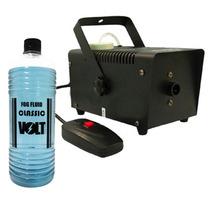 Máquina De Fumaça 600w 127v C/ Controle Remoto S/fio +fluido