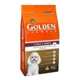 Ração Golden Formula Premium Especial Cachorro Adulto Raça Pequena Carne/arroz 15kg