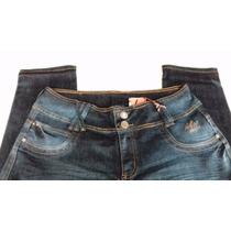 Calça Jeans Azul Feminina Tamanho 48-50 Jeans All Denim