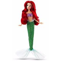 Disney Store Boneca Princesa Ariel Pequena Sereia Classic Do