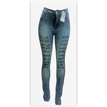 Atacado Revenda 10 Calças Jeans Feminina Hot Pant Cos Alto