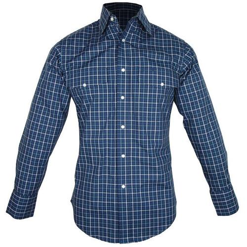7135f24510d51 Camisa Country Masculina Wrangler Xadrez Mwr244