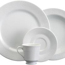 Jogo Jantar E Chá 30 Peças Noiva Porcelana Schmidt