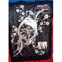 Camisa Armani Exchange Chrono 01