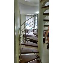 Corrimão Escada Caracol Aço Inox Alto Padrão